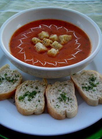 Receta De: Crema De Tomate Casera