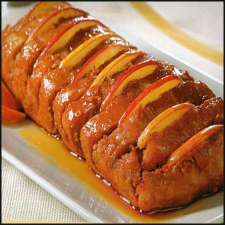 Recetas De: Lomo de Cerdo en  Miel de Manzana