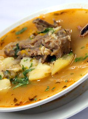 Receta de Sopa Serrana