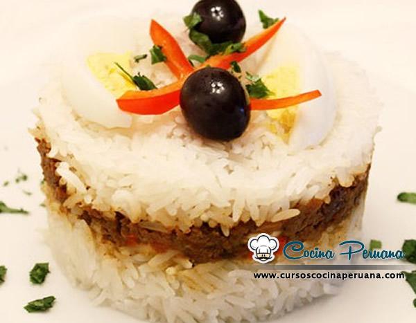Receta de arroz tapado