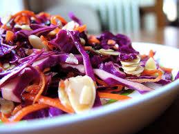Receta de ensalada de col morada