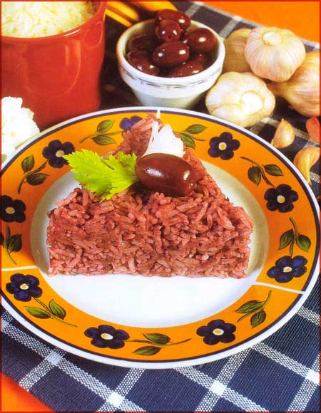 Receta de arroz al olivar