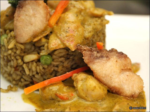Receta de arroz norteño