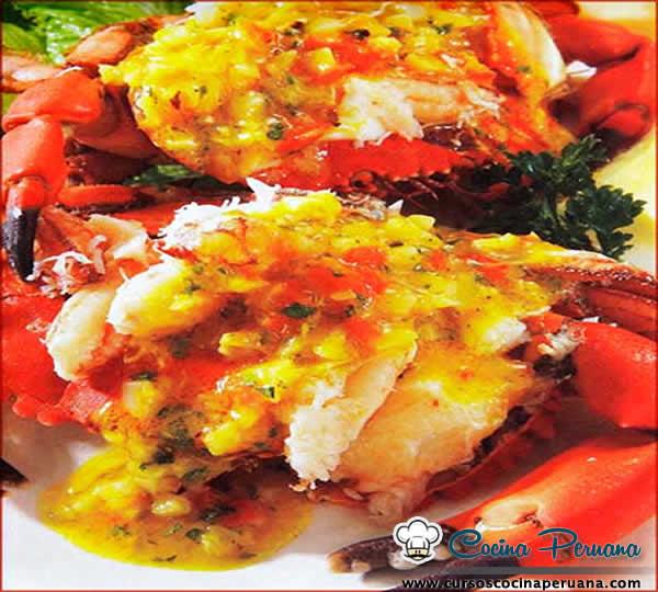 Receta de cangrejos a la tumbesina