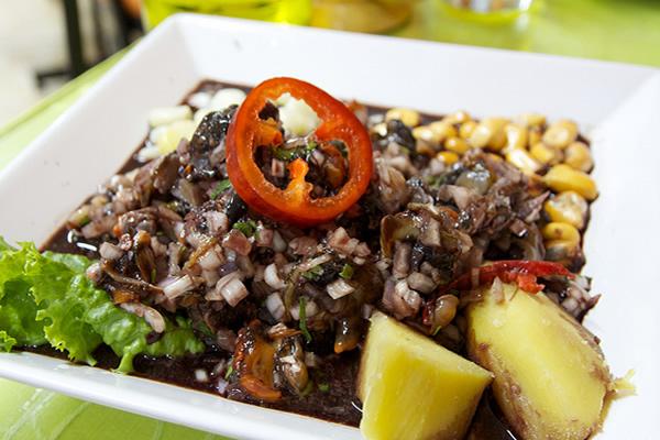 Receta de ceviche de conchas negras