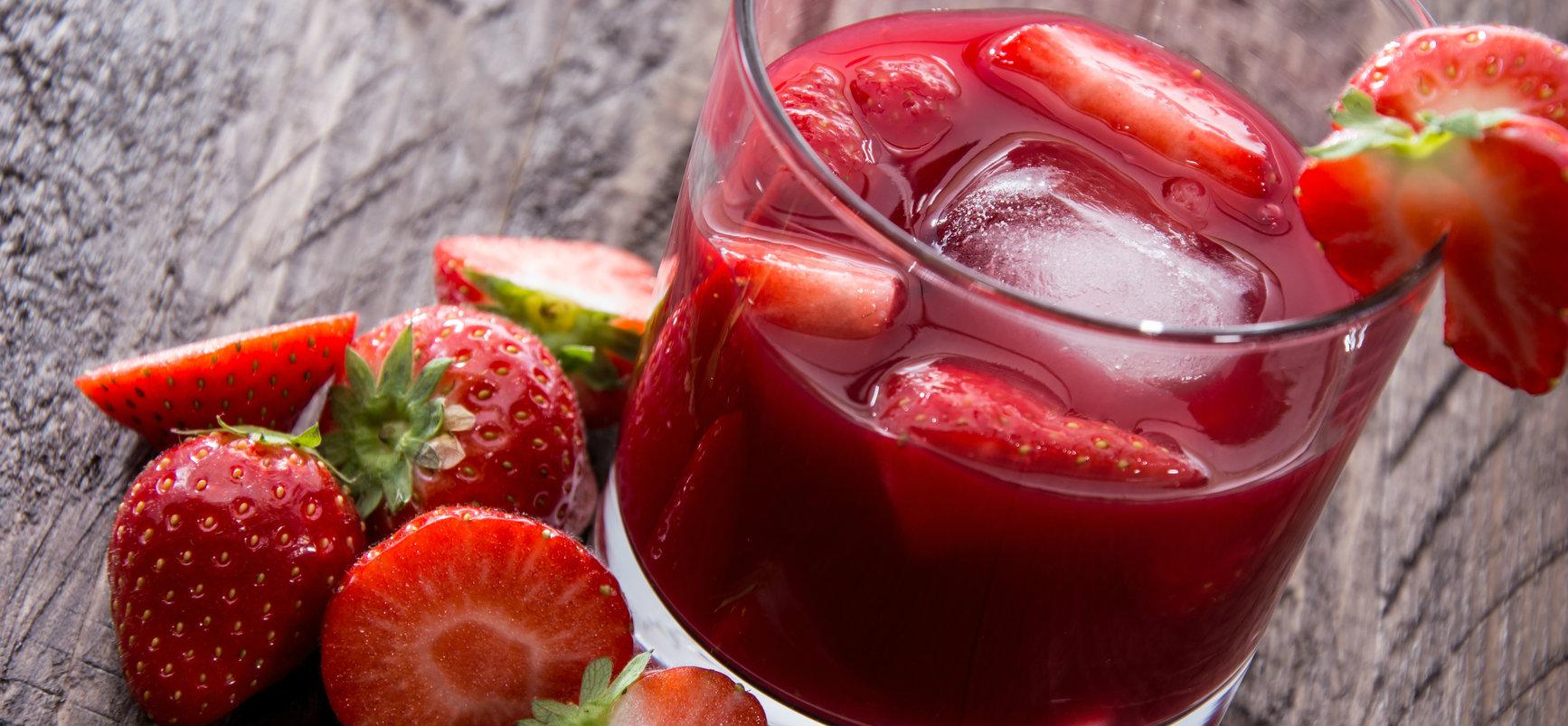 Receta de refresco de frutas