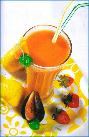 Receta de jugo Super Mix