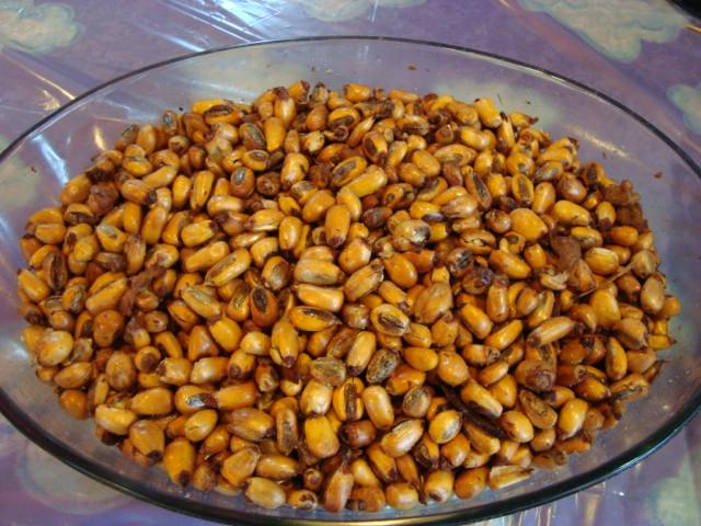 Receta de Canchita de Maiz