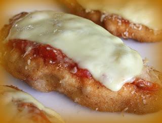Pejerrey a la Parmesana