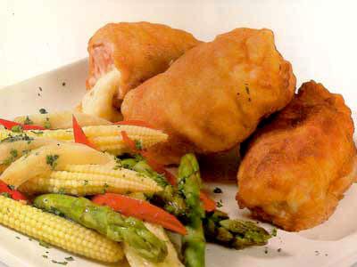 Receta de Pollo Relleno con Queso
