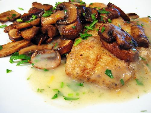 Receta de pescado en salsa de kion