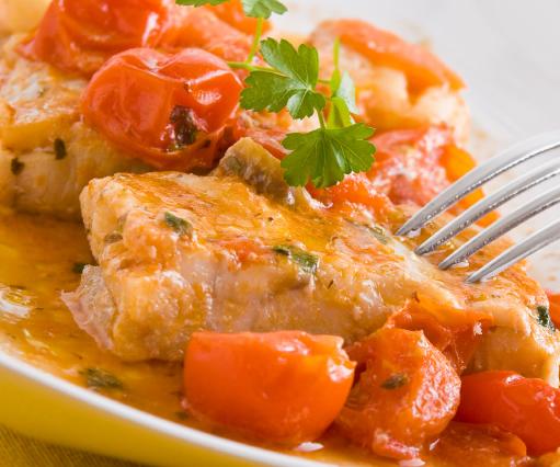 Receta Centolla con salsa de tomate