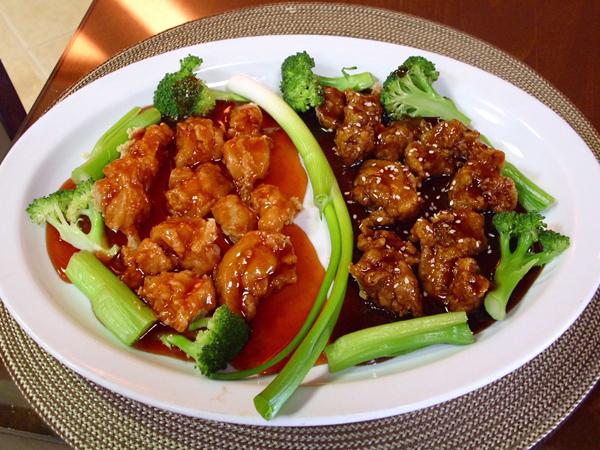 Receta de pescado con cebolla china y aji