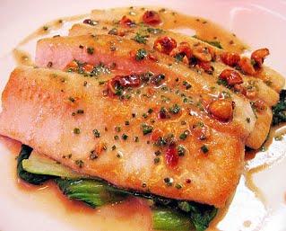 Receta de trucha a la pimienta recetas de cocina recetas - Como cocinar la trucha ...