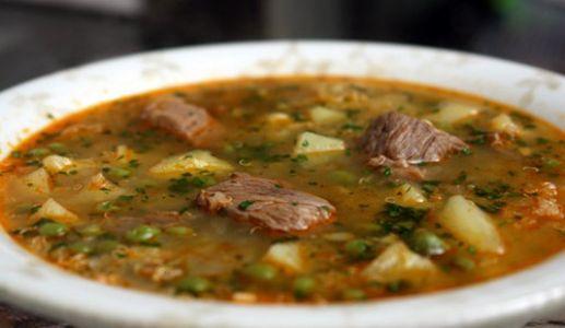 Receta de Sopa Huachana
