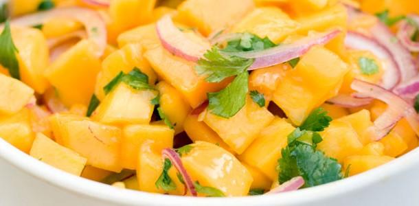 Receta de ceviche de mango