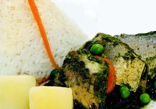 Receta de Seco de pescado