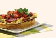 Receta pan tortilla con chorizo