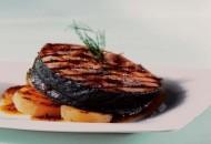 Receta medallones de salmon con mostaza
