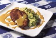Receta de pollo en salsa de lúcuma