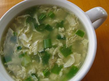 Receta de sopa fuchifu