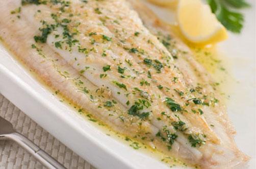 Receta pescado en salsa de ajo