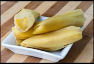 Receta humitas con queso y huacatay