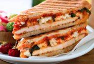 Receta de pizza sándwich