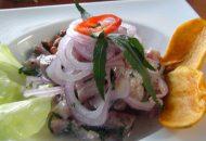 Receta de ceviche con huacatay