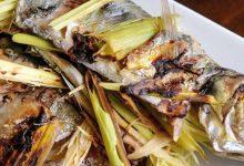 Receta de pescado con hierva luisa