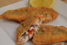 Receta de pescado relleno empanados
