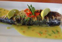 Receta de pescado en salsa de mostaza
